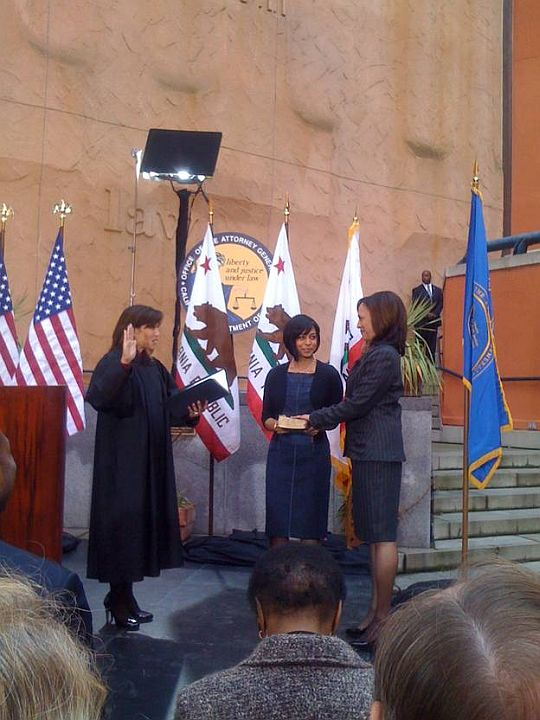 Kamala Harris sworn in