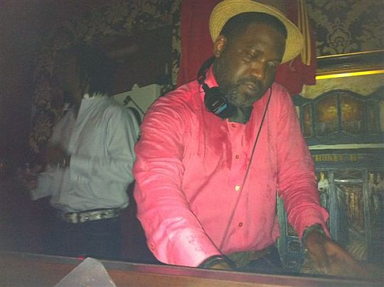 Selwyn Hines on the Wheels of Steel