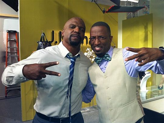 Terry Crews and Ricky Smiley