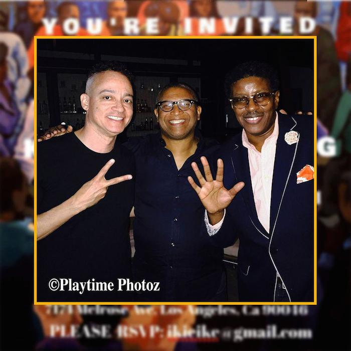 Reggie with Kid 'N Play