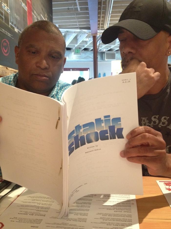 Static Shock Script