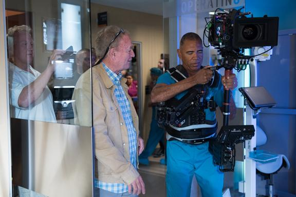 Dr. Chris with steadicam