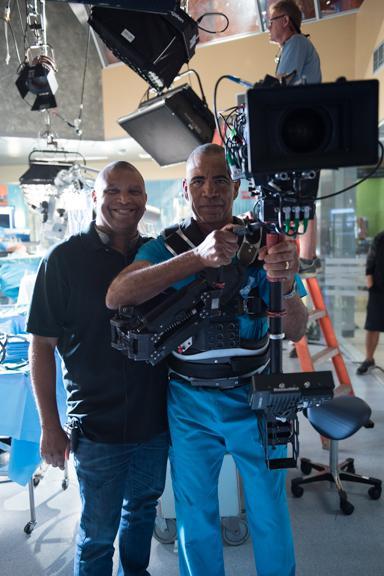 Reggie and Dr. Chris