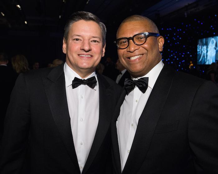 Ted Sarandos & Reggie