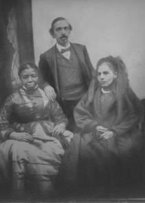 Peter Hudlin, wife and mother
