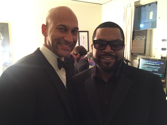 Keegan-Michael Key and Ice Cube