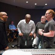 Reggie Byron Phillips and composer Danny Elfman