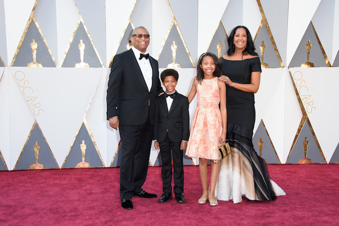 Hudlin Family on the Red Carpet