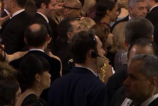 Reggie at the Oscars