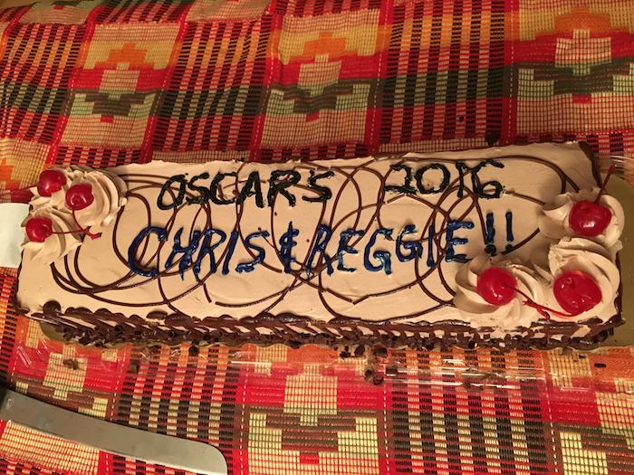 Oscars cake
