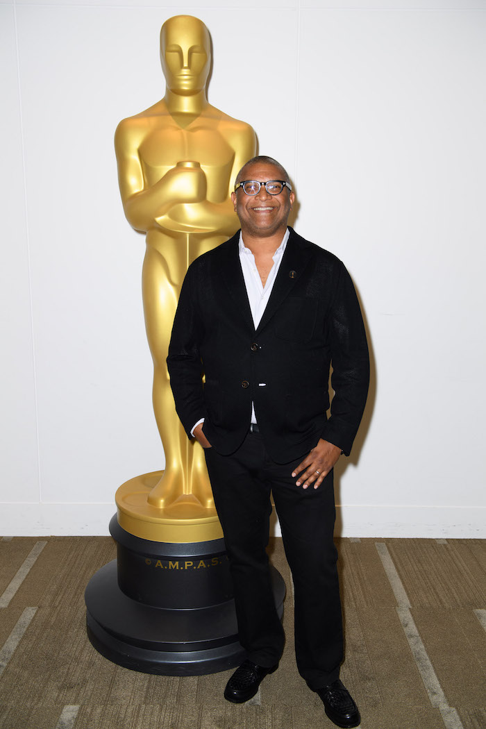 "Academy governor/moderator Reginald Hudlin prior to a screening of ""Purple Rain"" presented by the Academy of Motion Picture Arts and Sciences, on Wednesday, August 17, 2016. ©AMPAS"